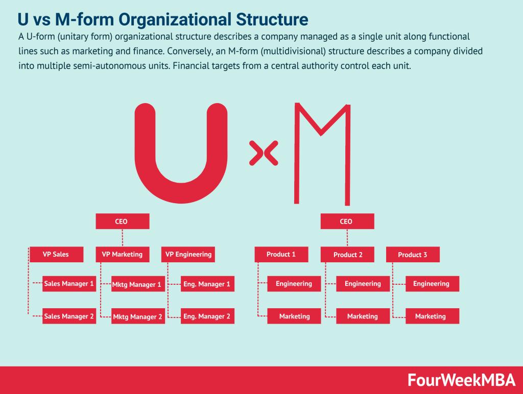 u-vs-m-form-organizational-structure