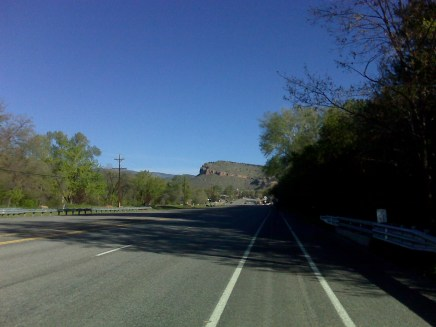 Starting up Hwy 7 from Lyons