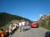 Near the summit of Col d'Aspin