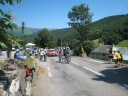 2009 TdF riders pass through Gripp, enroute to the Tourmalet