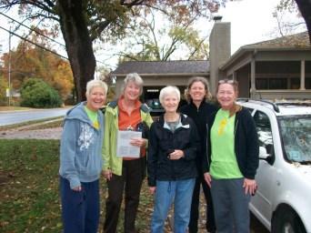 Laura, Susan, Ann, Cathy, Cindy