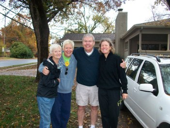 Ann, Laura, Larry, Cathy