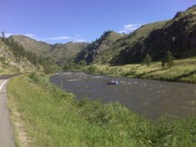 Rafting on the Poudre