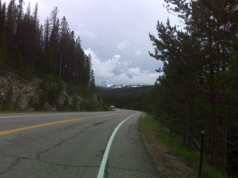 Nearing Cameron Pass