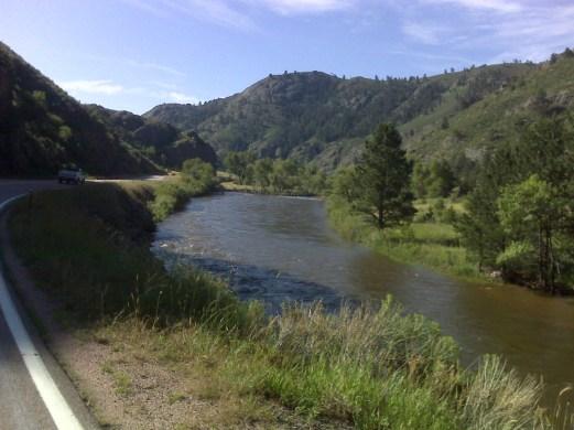 Poudre River near LaPorte