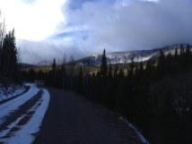 Trinchera in the clouds