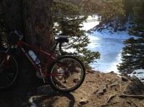 Bear Lake and bike