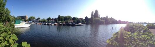 Pier at SUP lake