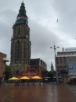kerk en toeristinformatie Groningen