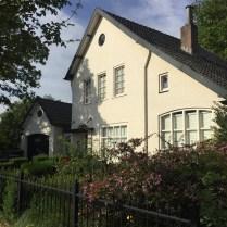wit baksteen huis