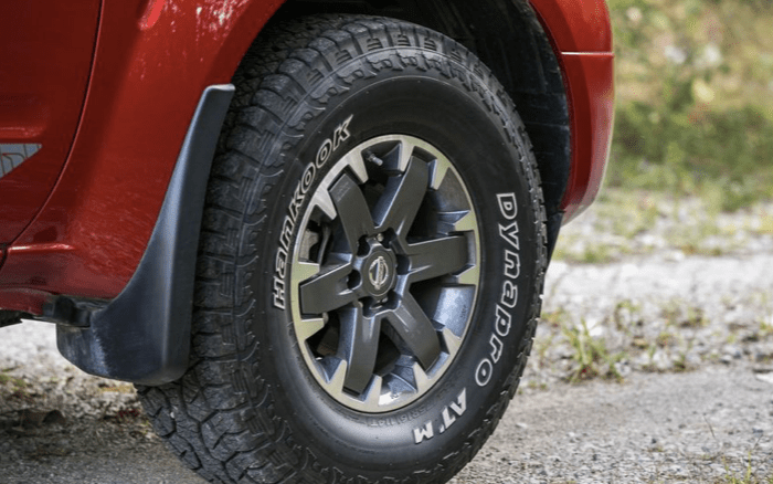 2021 Nissan Frontier Suspension