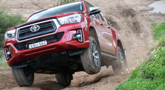 2021 New Toyota Hilux Off Road