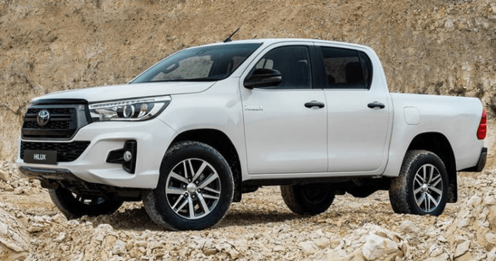 2022 New Toyota Hilux Facelift
