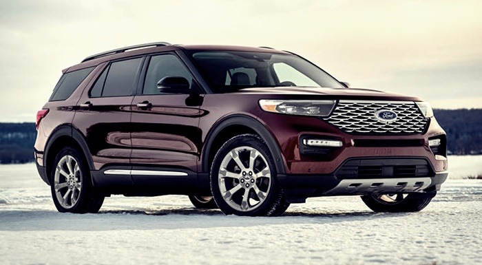 2022 Ford Explorer Platinum Redesign