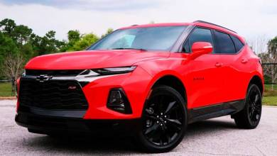 Photo of 2022 Chevrolet Blazer Redesign Model