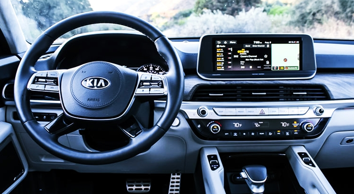 New Kia Telluride 2022 Interior
