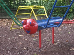 Creature on Old Play Area