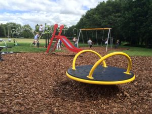 Victoria Park Leicester - new play area for 12-13 year olds