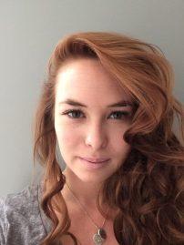 Camilla Dowling head shot natural curly hair
