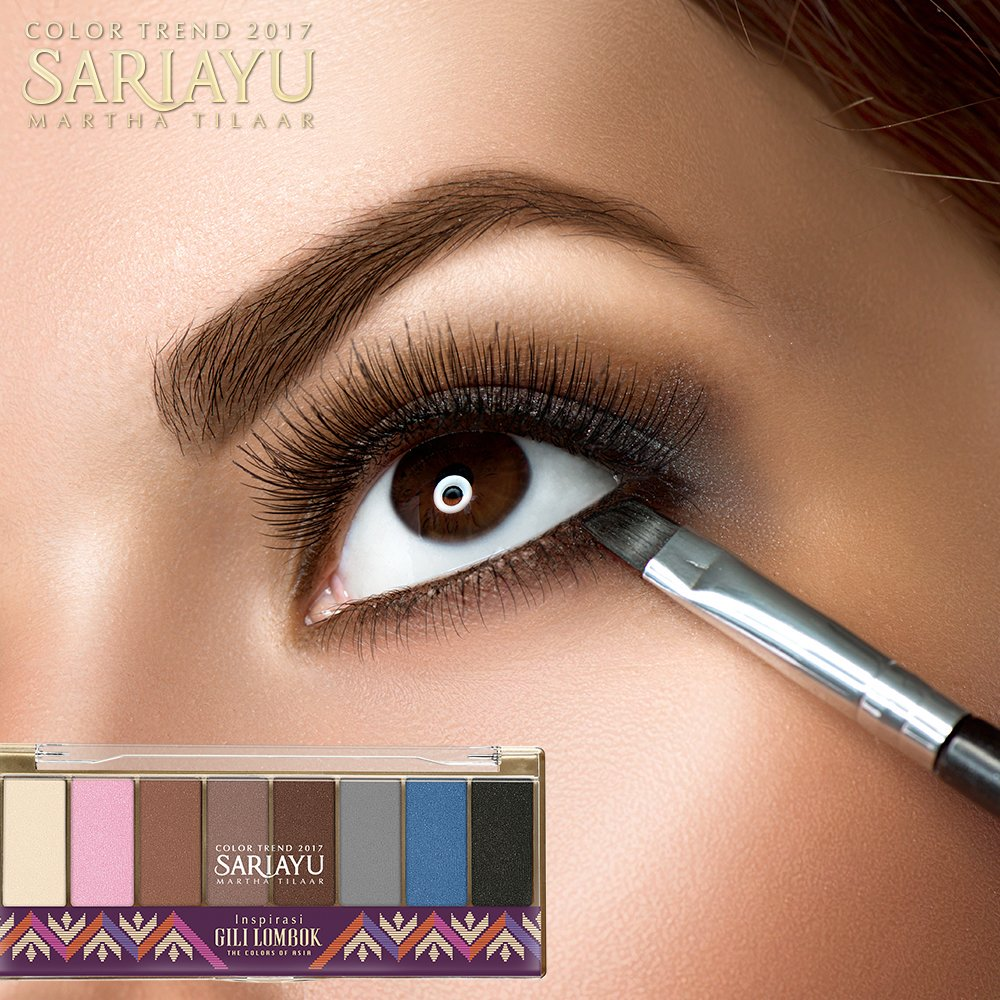Keunikan Eye Shadow Sariayu Gili Lombok