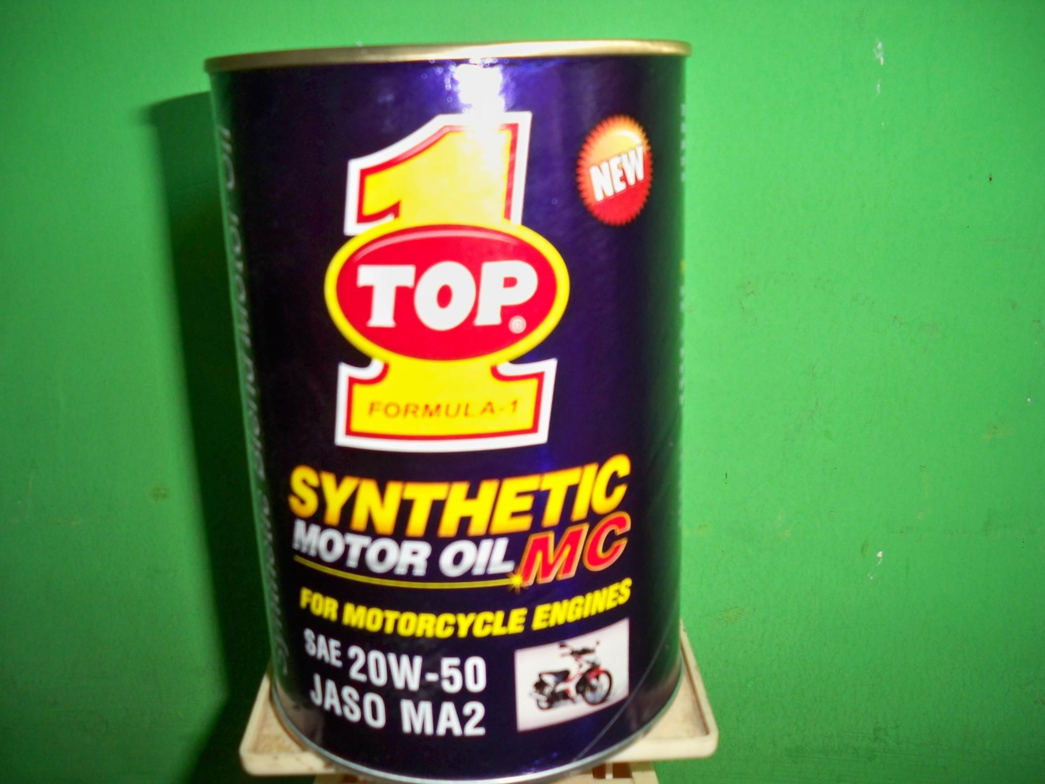 Kelebihan Oli Synthetic Top 1 untuk kendaraan