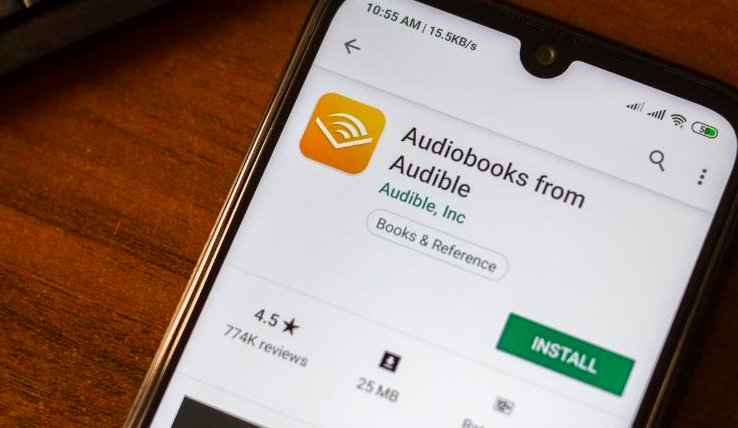 Audible app picture
