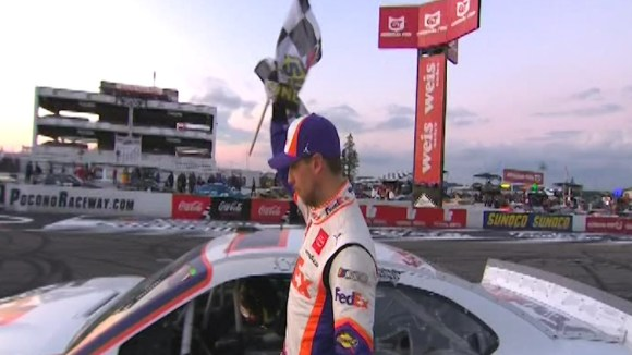 Pocono races wrap up bust weekend | WOLF