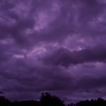 Purple Sunset Floridians Share Gorgeous Images Of Purple Sky After Hurricane Dorian Fox8 Com
