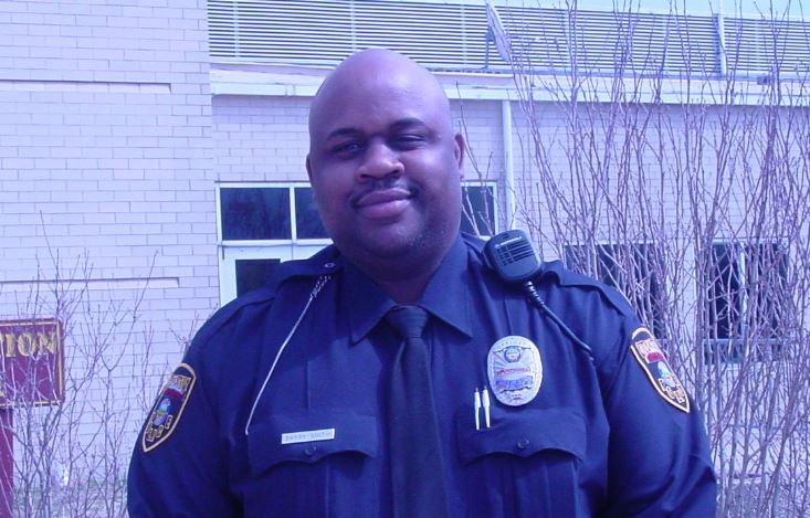 Stow police officer Barry Smith