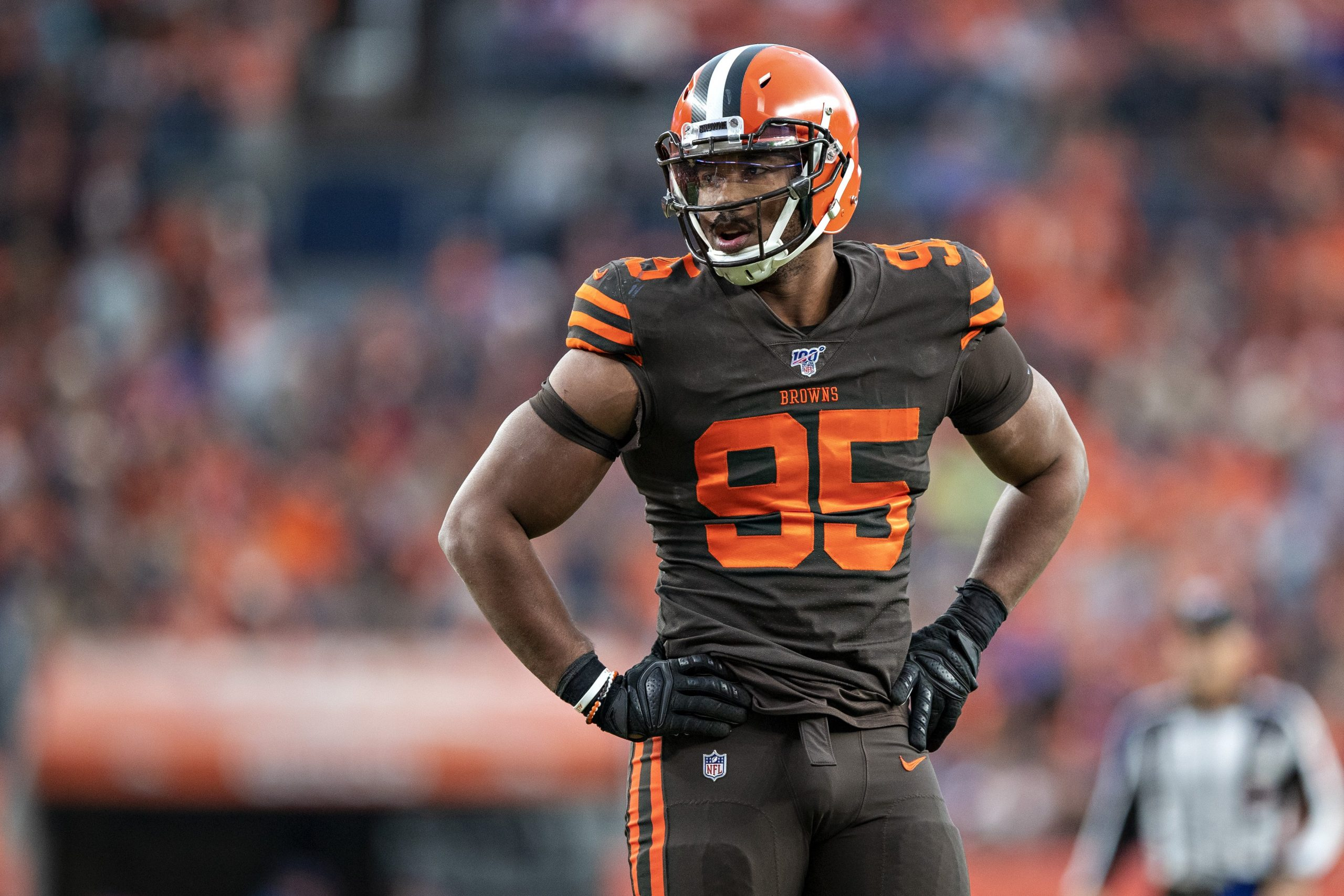 Myles Garrett nearing 5-year, $125 million extension with Browns: Report