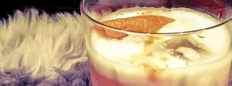 winter whiskey sour