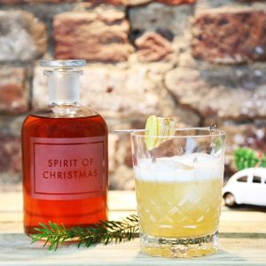 gin and gingerbread sour