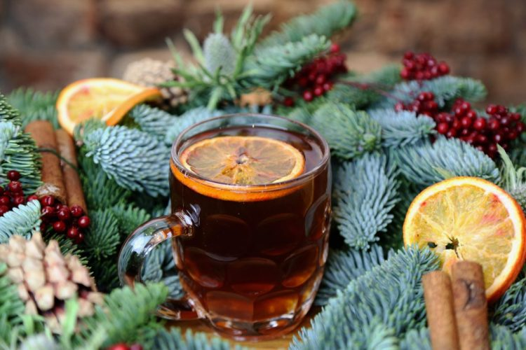 gingerbread purl with hot ale