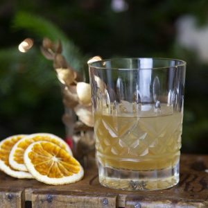Spiced Orange Old Fashioned