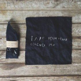 Peg & Awl Take Your Time Loving Me Handkerchief | Friday Favorites via Fox & Brie