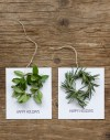 DIY Wreath Holiday Cards by Frolic Blog | Friday Favorites via Fox & Brie
