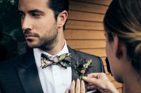 Wedding: Alex & Marieclaire | Photo by Julien Boudet & Charles Roussel | Bow Tie by Fox & Brie