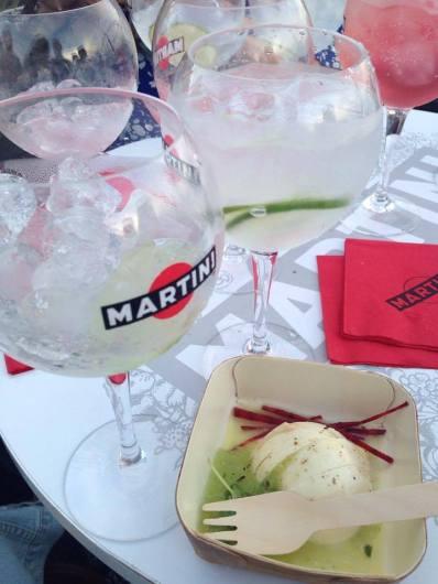 Recette cocktail rafraichissant été Martini Tonic