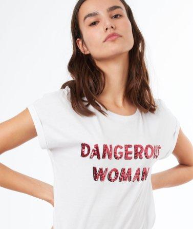 etam-t-shirt-imprime-dangerous-woman