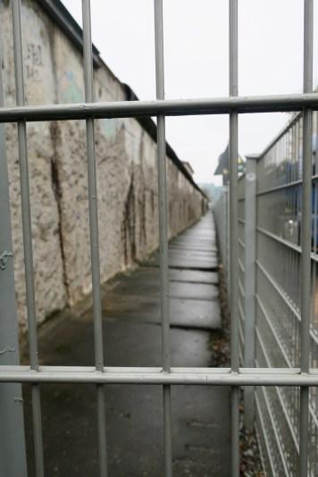 Bout du mur de berlin