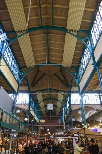 Marheineke Markthalle food court à berlin