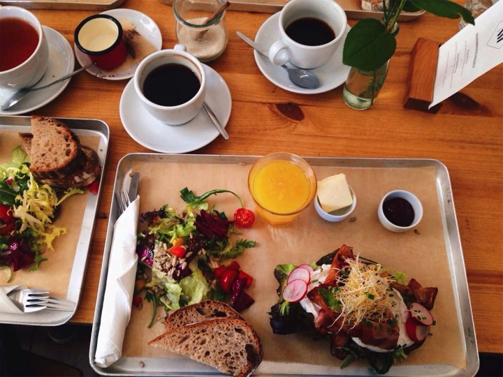 Brunch à Berlin : neumanns cafe