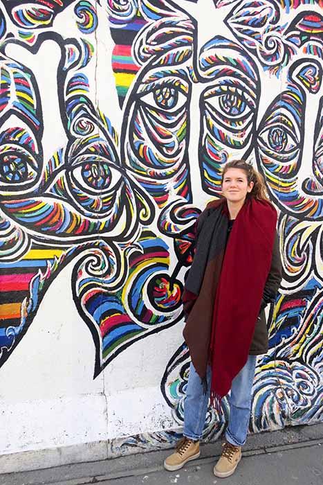 Voir le mur de Berlin