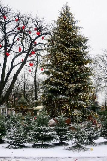 Sapin de Noël à Tivoli, Copenhague