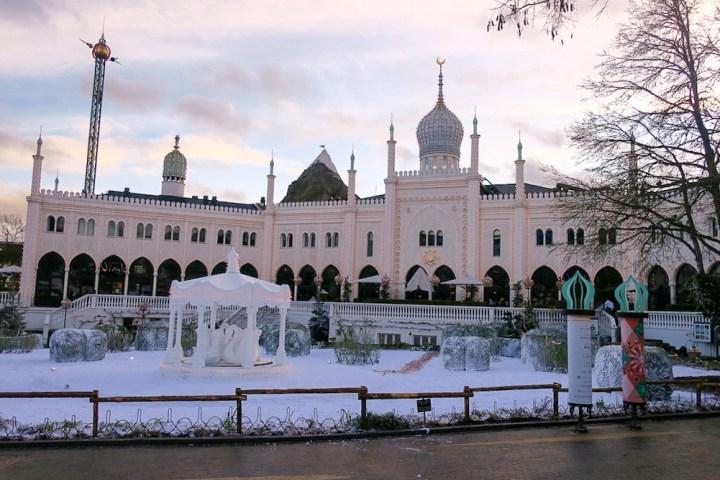 Esprit de Noël aux jardins de Tivoli