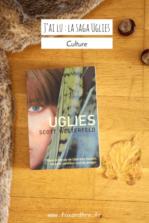 Mon avis sur la saga Uglies de Scott Westerfeld