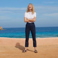 collection printemps été 2019 pantalon en lin La Redoute