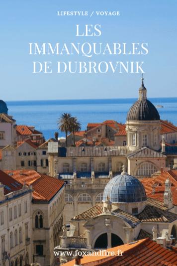 Les immanquables de Dubrovnik