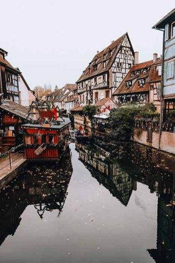 Petite Venise Noël à Colmar en Alsace