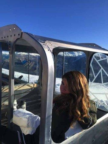 Skier à Crans Montana